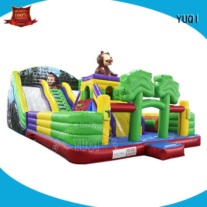 YUQI disney inflatable amusement park for business for park
